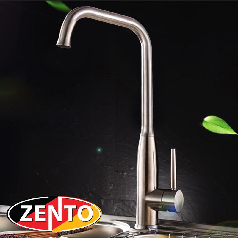 Vòi rửa bát nóng lạnh inox304 Zento SUS5573